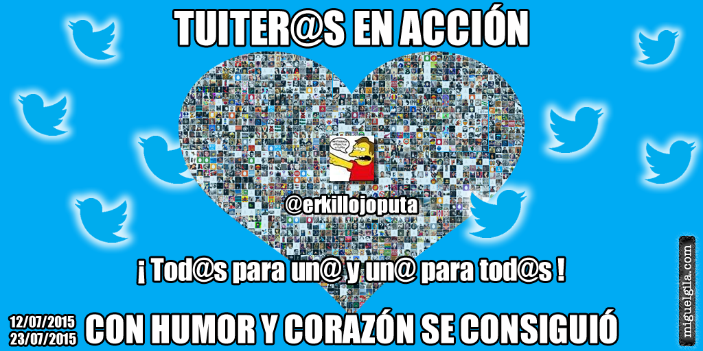Tuiteros influyentes - Tuiteros en acción - Miguel Gila