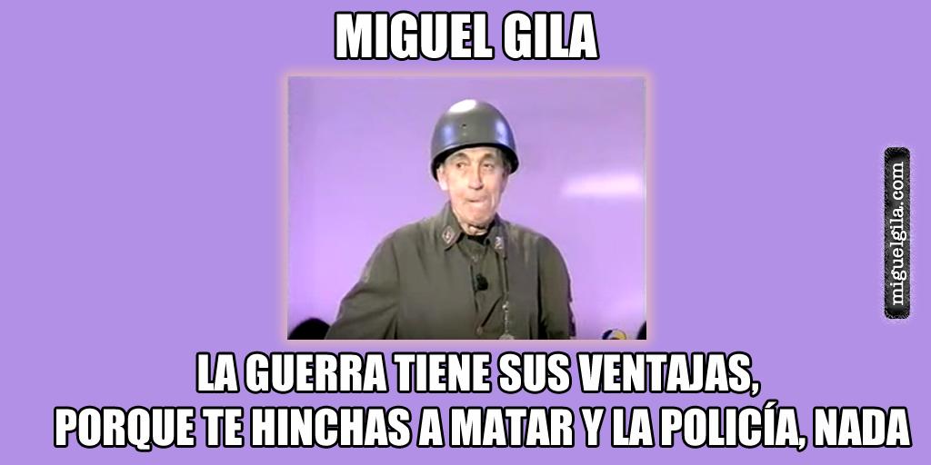 Miguel Gila - De mercenario - Mejores monologos