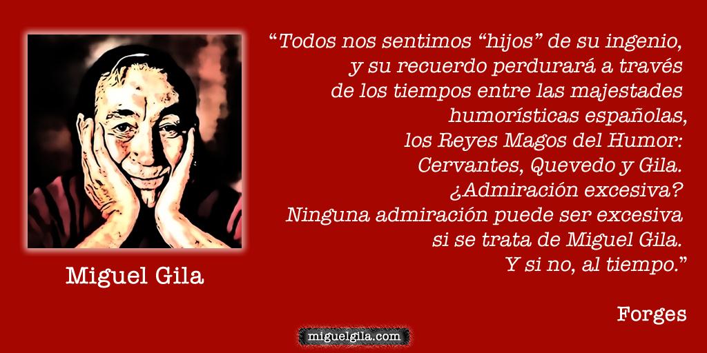 Hablan sobre Miguel Gila a38749c7df6