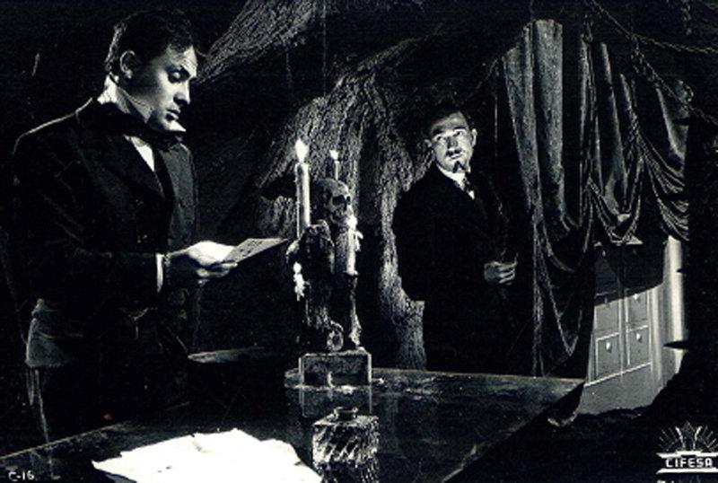 Miguel Gila y José Luís Ozores en El diablo toca la flauta