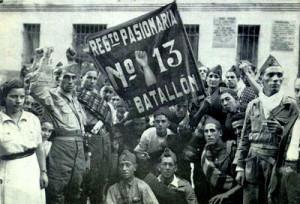 Miguel Gila - Guerra Civil de España - Regimiento de la Pasionaria