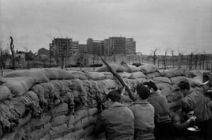 Miguel Gila - Guerra Civil de España - Trincheras milicianos
