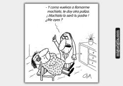 Viñeta - Violencia Machista - Miguel Gila