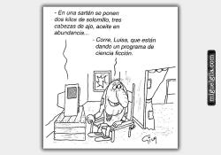 Un programa de ficción - Viñeta de Miguel Gila