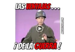 VideoMeme - Ventajas de la guerra - Miguel Gila