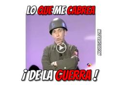 VideoMeme - Miguel Gila - Lo que más me cabrea de la guerra!!