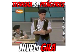 VideoMeme - Miguel Gila - Teorema de Pitágoras