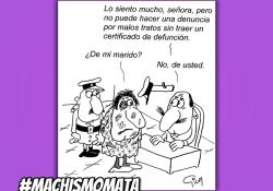 Violencia Machista - #NosQueremosVivas - Miguel Gila