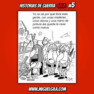 Miguel Gila - Chistes Gráficos - Historias de Guerra
