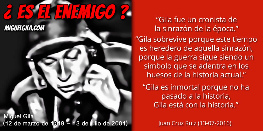 Miguel Gila - Frases de Juan Cruz 7e53d4025bb