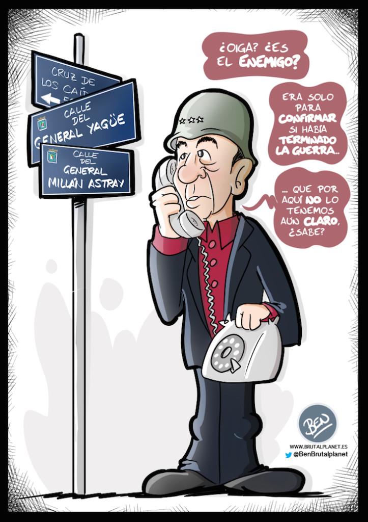 Miguel Gila - Caricatura - Ben