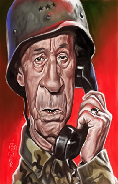 Caricatura de Miguel Gila - Jaume Cullell