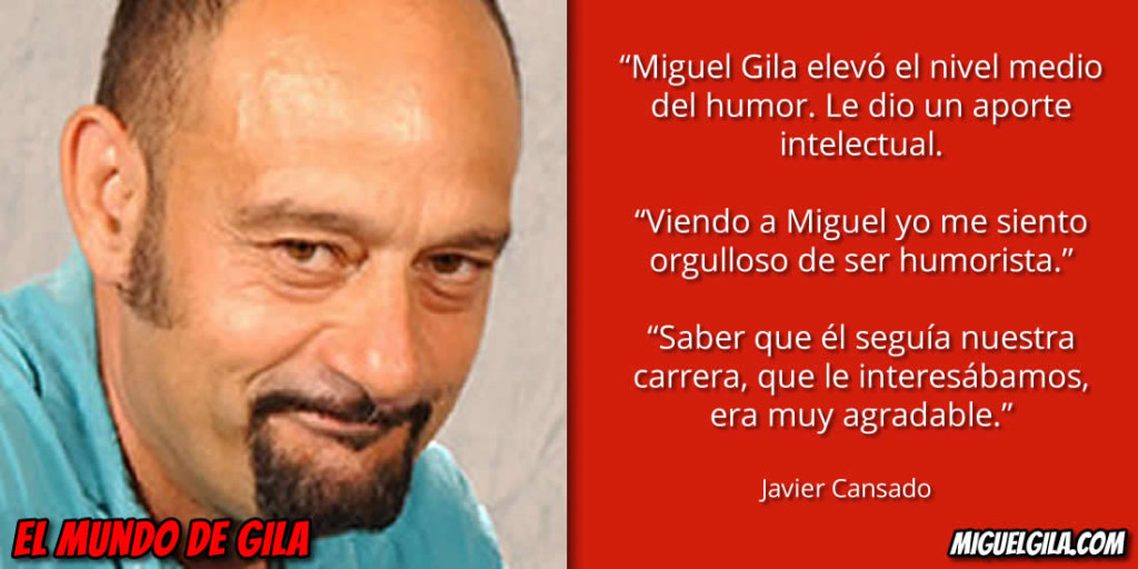 Javier Cansado habla de Miguel Gila
