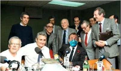 """Humoristas del programa """"Debate sobre el Estado de la Nación"""""""