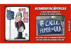Miguel Gila - Cambiar Yagüe por Gila - #CambiarYagüePorGila