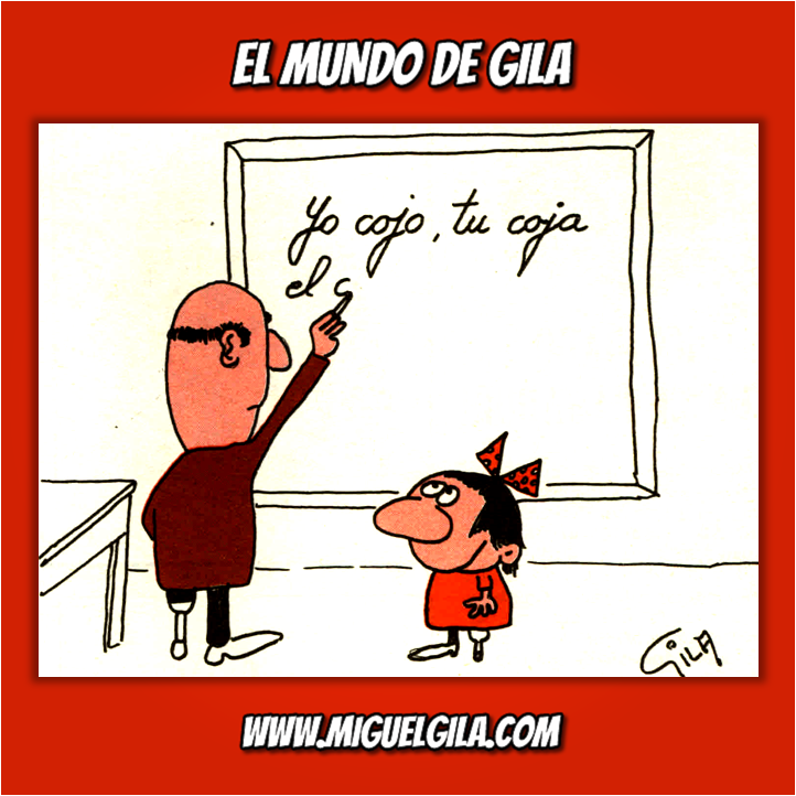 Miguel Gila - Chistes Gráficos - Día del Maestro