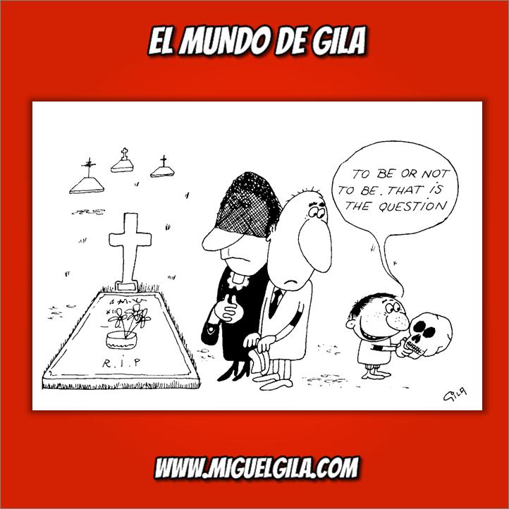 Miguel Gila - Chistes gráficos - Día de Difuntos