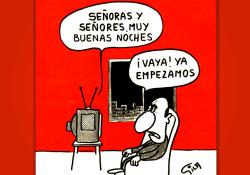 Miguel Gila - Chistes gráficos - Día de la Televisión