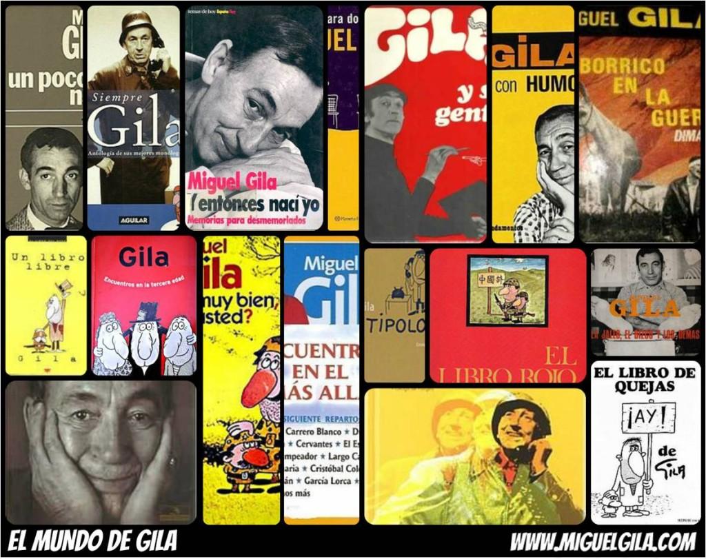 Los libros de Gila
