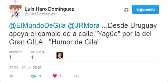 Luis Haro - Apoyo Calle Humor de Gila