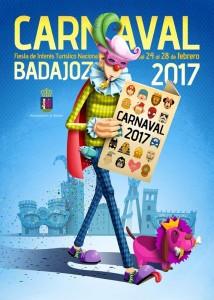 Carnaval de Badajoz - Cartel 2017