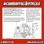 """El apoyo a la calle """"Humor de Gila"""" alcanza ya más de 4.000 firmas!! Porque queremos #CambiarYagüePorGila"""
