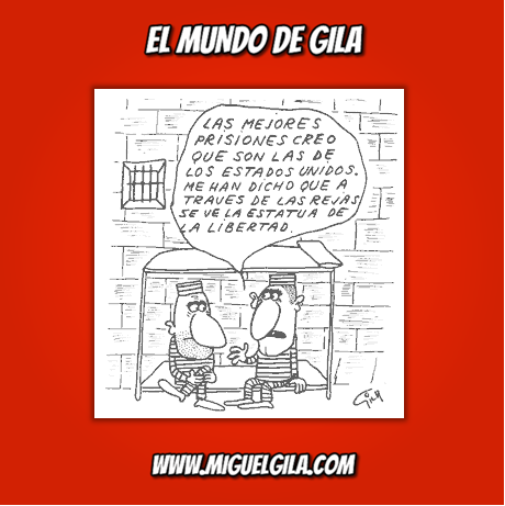 Miguel Gila - Chistes gráficos - El valor de la libertad