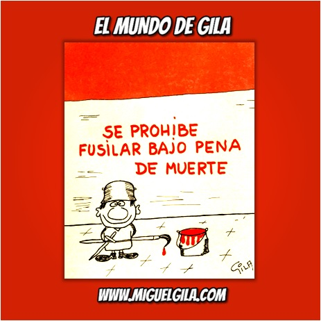 Miguel Gila - Chistes gráficos - Fusilamientos