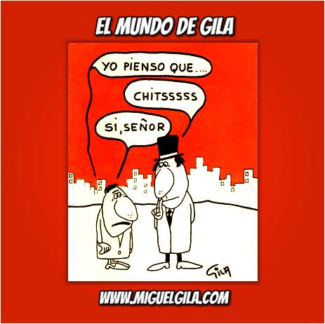 Miguel Gila - Chistes gráficos - Generación del Silencio