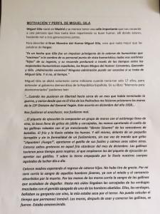 Alegación del PSOE para que la calle General Yagüe pase a llamarse Humor de Gila