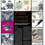El hasthag #HumorAmenazado en El Periódico 11-11-2017