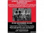 """Te invitamos a la Fiesta y Espectáculo del miércoles 29 de noviembre: """"Por amor a Gila"""""""