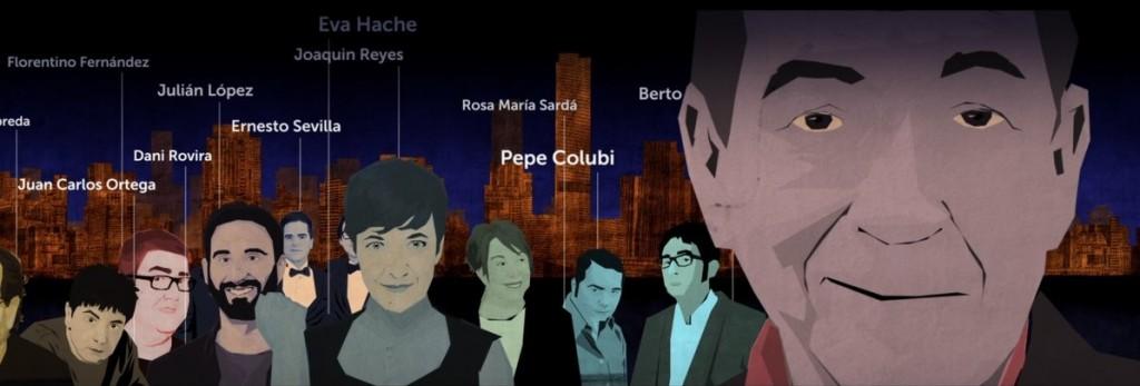 Cómicos admiradores de Miguel Gila