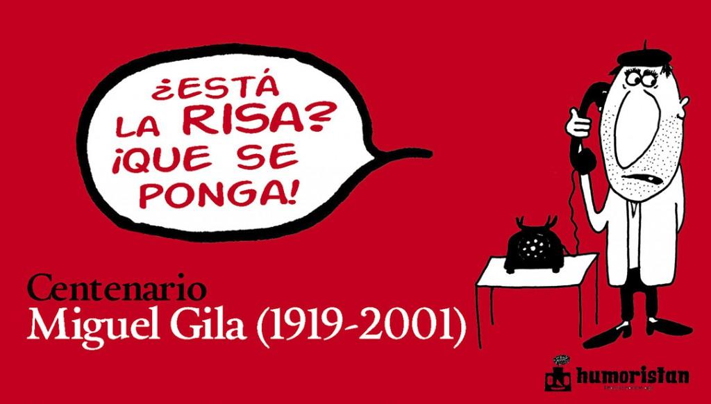Humoristan recupera las primeras viñetas de Gila en el centenario de su nacimiento
