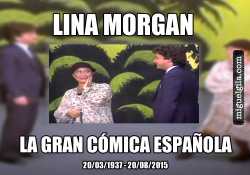 Fallece LinaMorgan