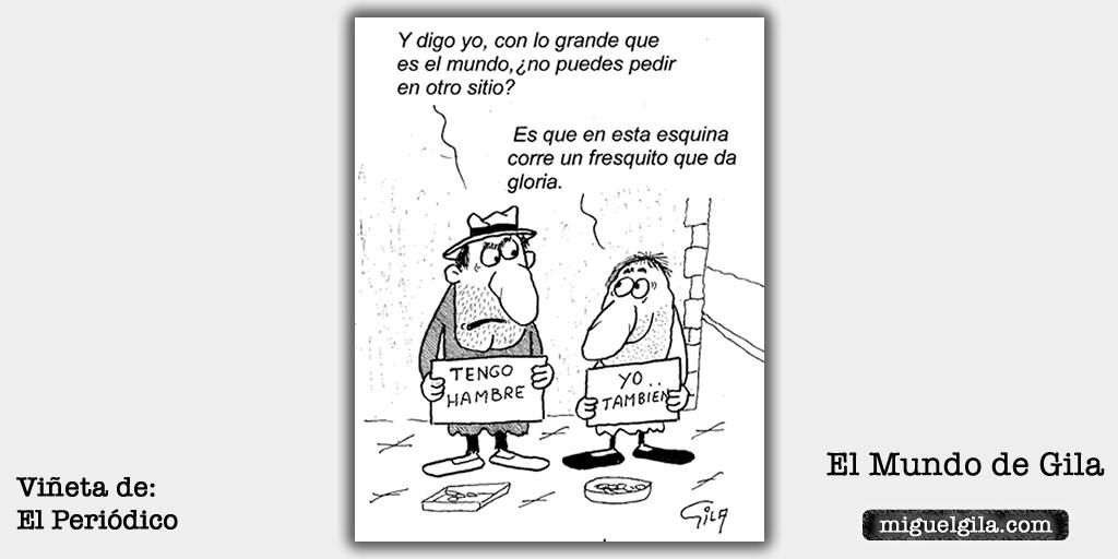 Chistes de humor negro - Viñeta de Miguel Gila