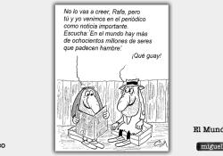 Humor Inteligente - Viñeta de Miguel Gila