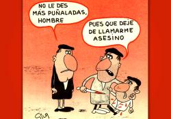 Miguel Gila - Chistes Gráficos - El asesino