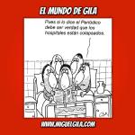 (☞゚ヮ゚)☞ Uno de Gila por favor #55 – Descubre por qué Gila era consciente de la necesidad de disponer de suficientes camas en los hospitales