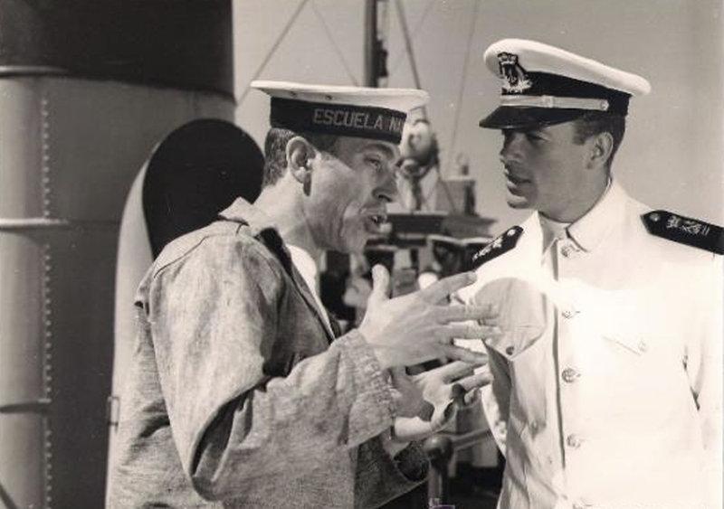 Miguel Gila con Manuel Gil en Botón de ancla