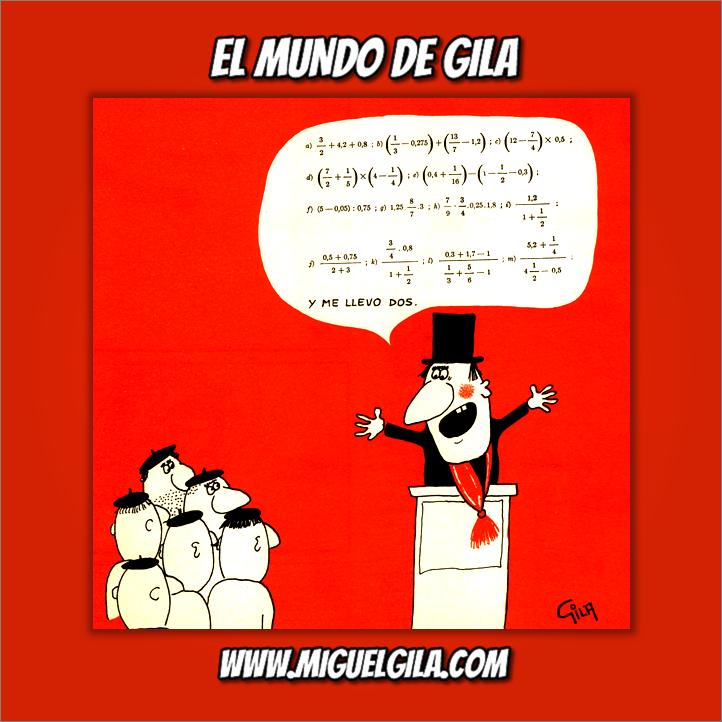 Miguel Gila - Chistes gráficos - Humor Político