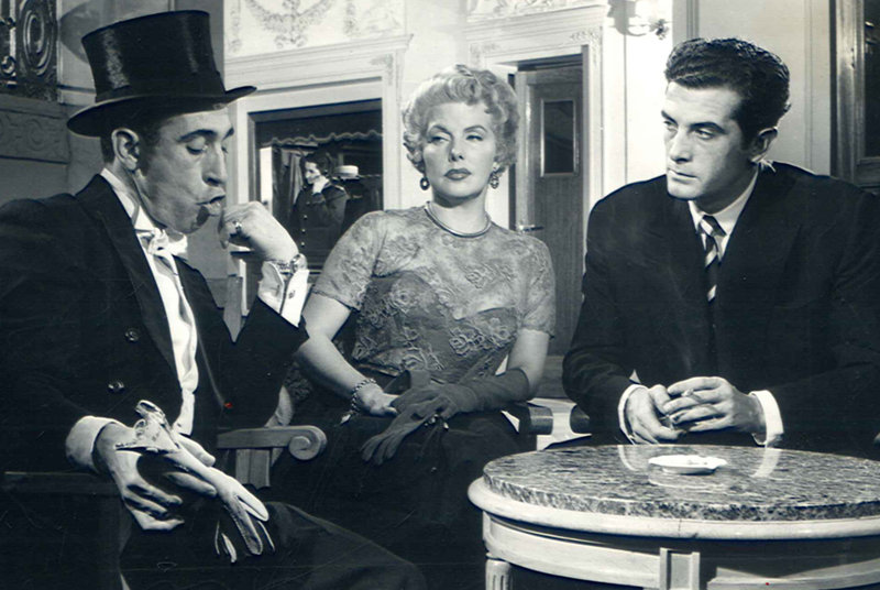 Miguel Gila con María Martín y Armando Moreno en el Ceniciento