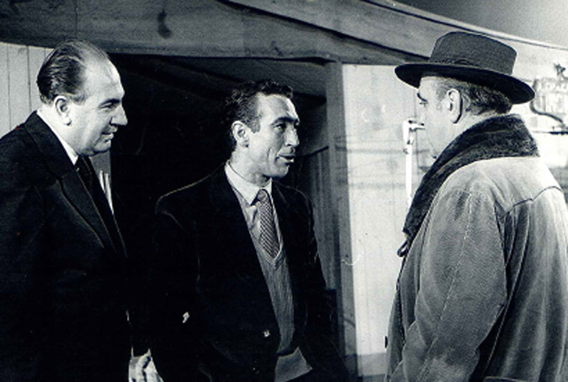 Miguel Gila con José Marco Davó y Manolo Morán en Viva lo imposible
