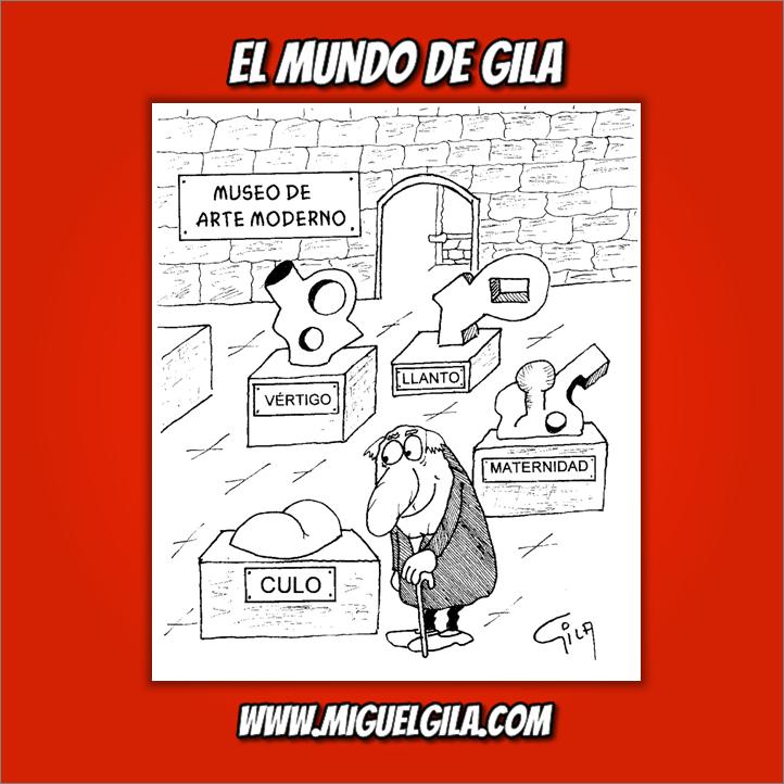 Miguel Gila - Chistes gráficos - Museos