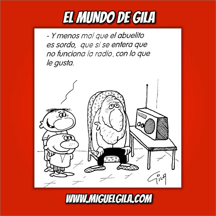 Miguel Gila - Chistes gráficos - Día universal del niño