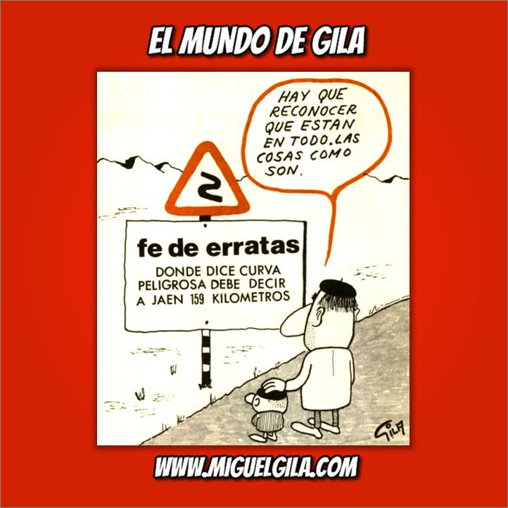 Miguel Gila - Chistes gráficos - Señales de tráfico