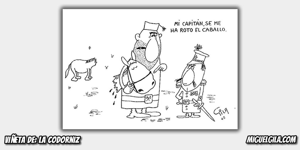 Miguel Gila - Primer dibujo Codorniz