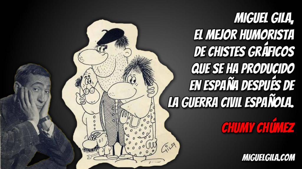 Miguel Gila - Humorista de Chistes Gráficos