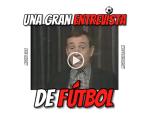 VIDEOMEME – Miguel Gila el periodista deportivo más resolutivo en las entrevistas de fútbol