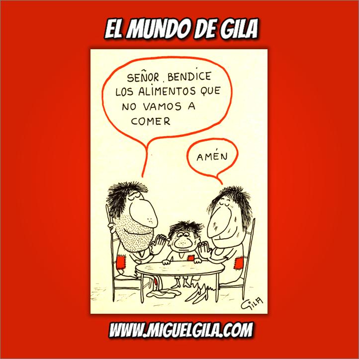 Miguel Gila - Chiste gráfico - Ricos y Pobres